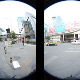 交通事故现场三维全景测量分析演示系统